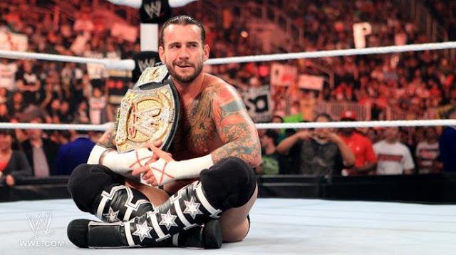 Cm Punk quiere ir por el WWE Championship después de derrotar a Brock Lesnar