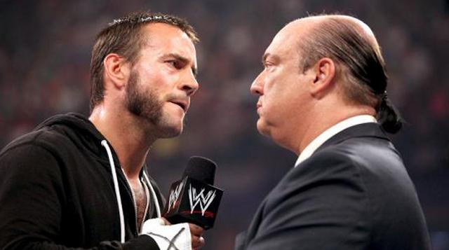 Fin de la storyline entre Paul Heyman y CM Punk