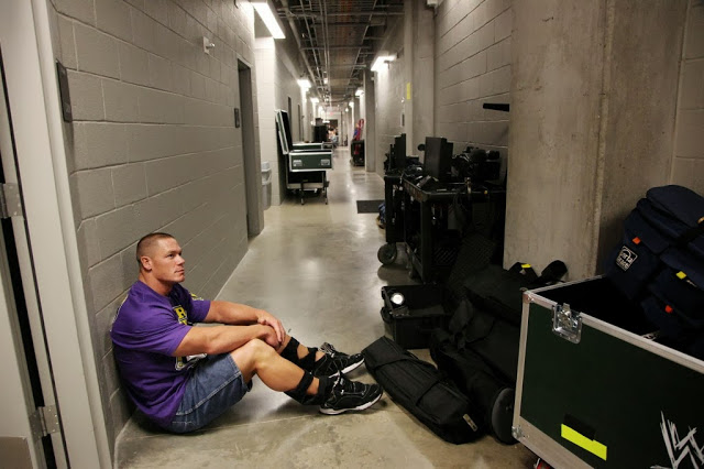Pelea en Backstage finalizado WWE RAW!