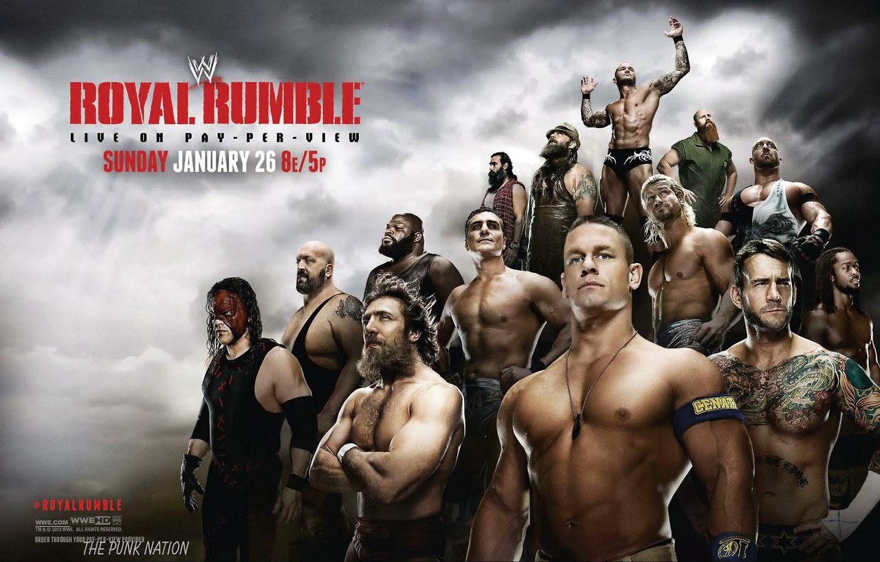 Resultados WWE Royal Rumble 2014 26 de Enero