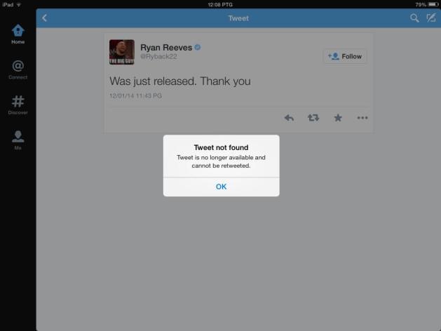 Ryback afirma haber sido liberado de WWE y publica mensajes extraños