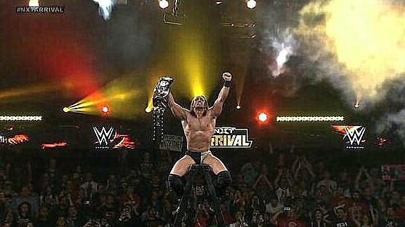 Resultados WWE NXT arRIVAL 2014