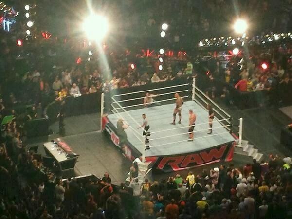Que paso después de WWE RAW 10 de Febrero del 2014?