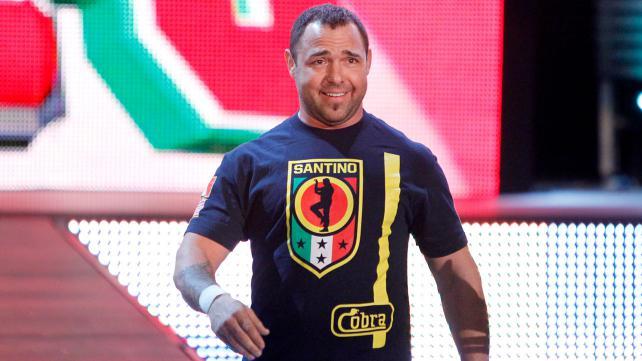 Santino Marella anuncia su retiro de la lucha libre