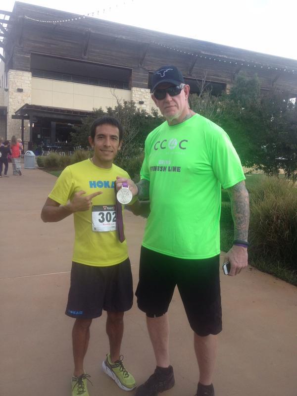 The Undertaker visto y fotografiado en una maratón celebrada este fin de semana en Texas