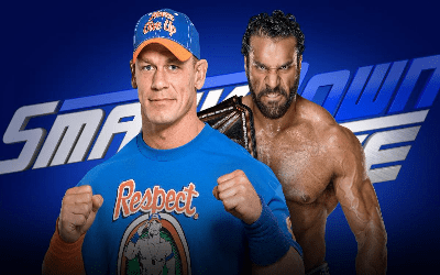 Jinder Mahal vs John Cena en SmackDown