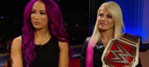 Sasha Banks y Alexa Bliss
