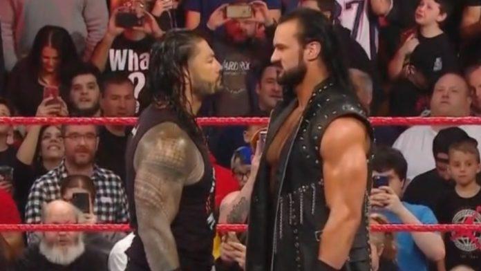 Drew McIntyre vs Roman Reigns